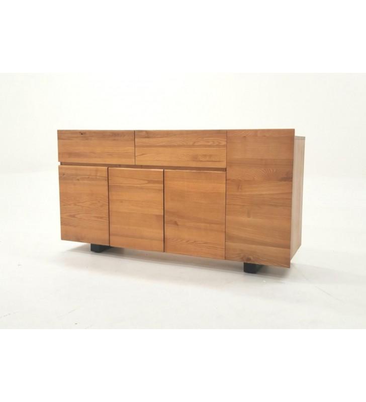 Ash Wood 4 Doors Buffet VIG Modrest Lance Modern Contemporary