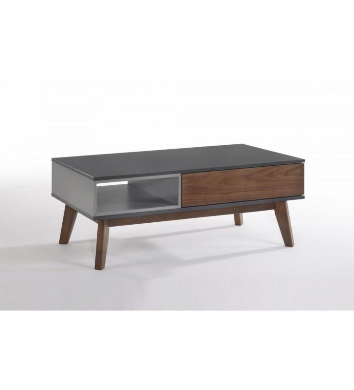 Coffee Table & End Table Set 2 Multi Colored VIG Modrest Lillian Contemporary
