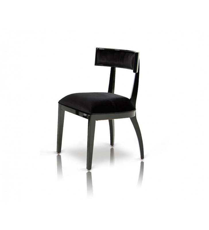 A&X AA032 - Black Dining Chair (Set of 2)