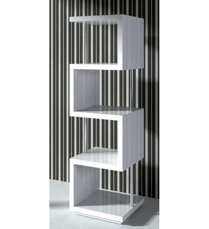 Glossy White Lacquer Wall Unit VIG Modrest Stage2 Contemporary Modern