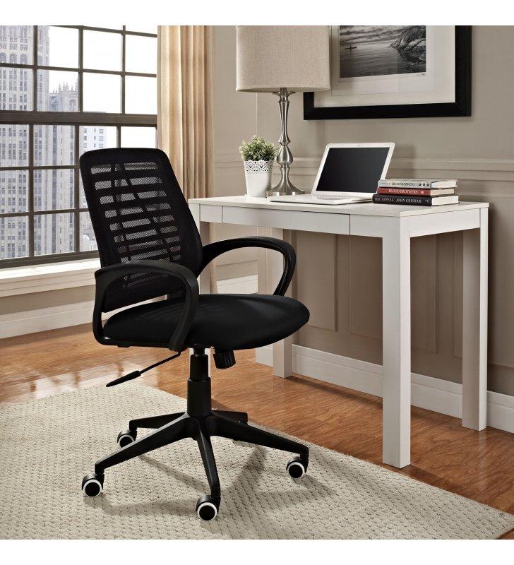 Ardor Office Chair in Black - Lexmod