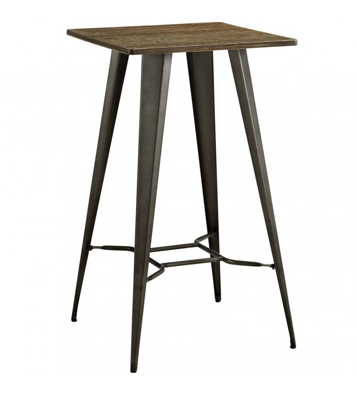 Direct Bar Table in Brown - Lexmod