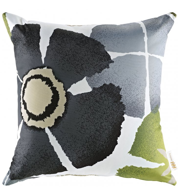 Modway Outdoor Patio Single Pillow in Botanical - Lexmod