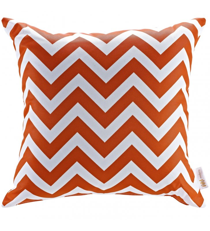 Modway Outdoor Patio Single Pillow in Chevron - Lexmod