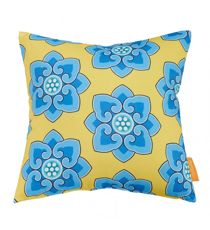 Modway Outdoor Patio Single Pillow in Cornflower - Lexmod
