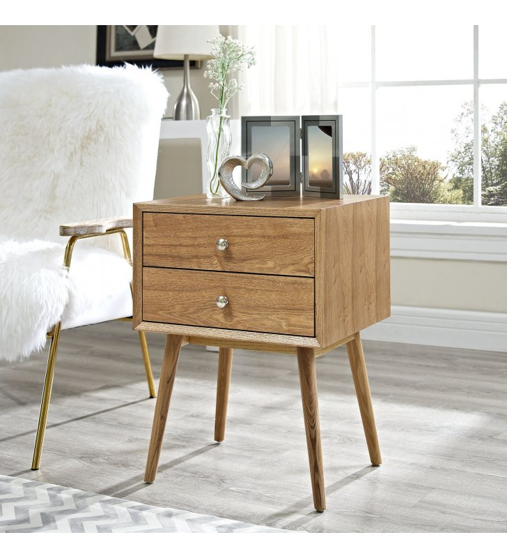 Dispatch Nightstand in Natural Natural - Lexmod