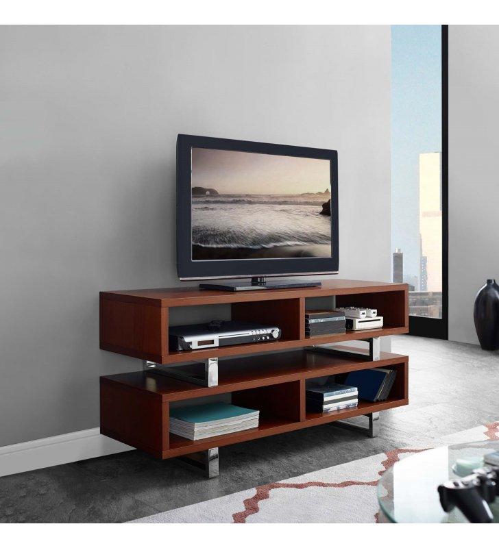"Amble 47"" TV Stand in Walnut - Lexmod"