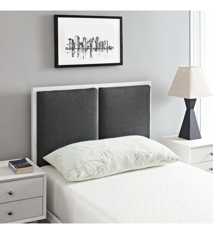 Relax King Size Pillow in White - Lexmod